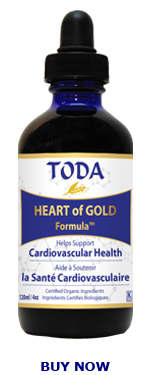 TODA Herbal HEARTofGOLD Formula 120ml / 4 oz